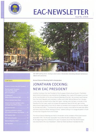 EAC Newsletter 2018-01